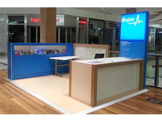Portable Exhibition Flooring : Pop up shop shopping centre kiosk retail displays