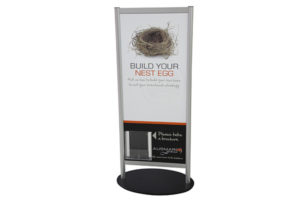 Freeform Brochure Stand